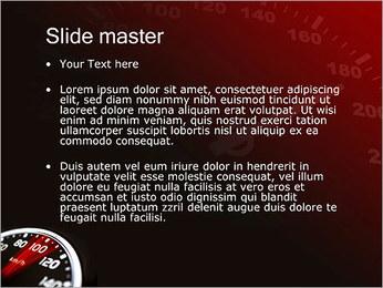 Compteur de vitesse dans la voiture Modèles des présentations  PowerPoint - Diapositives 2