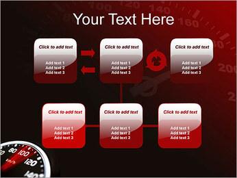 Compteur de vitesse dans la voiture Modèles des présentations  PowerPoint - Diapositives 23