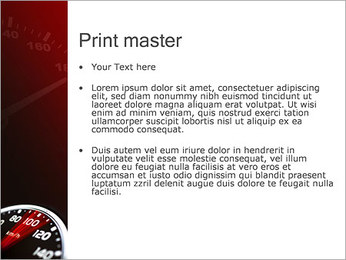 Compteur de vitesse dans la voiture Modèles des présentations  PowerPoint - Diapositives 24