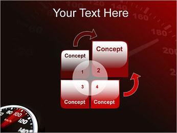 Compteur de vitesse dans la voiture Modèles des présentations  PowerPoint - Diapositives 5