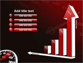 Compteur de vitesse dans la voiture Modèles des présentations  PowerPoint - Diapositives 6