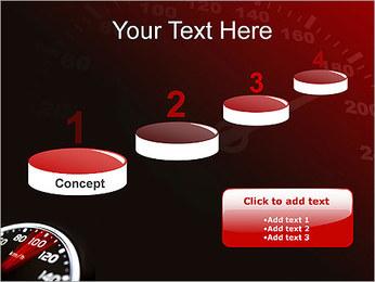 Compteur de vitesse dans la voiture Modèles des présentations  PowerPoint - Diapositives 7