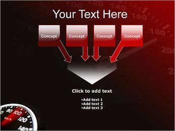 Compteur de vitesse dans la voiture Modèles des présentations  PowerPoint - Diapositives 8