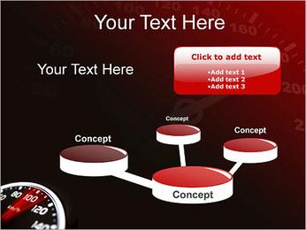 Compteur de vitesse dans la voiture Modèles des présentations  PowerPoint - Diapositives 9