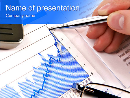 Financial Report Powerpoint Template Backgrounds Google Slides