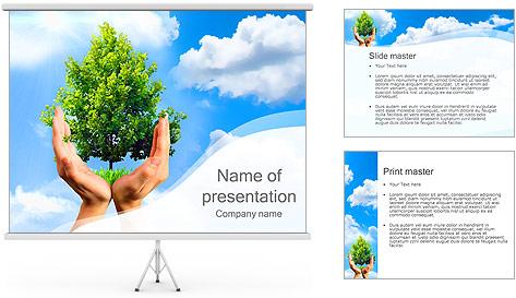 Sauvegarder Forêt Promo Modèles des présentations  PowerPoint