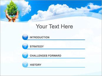 Sauvegarder Forêt Promo Modèles des présentations  PowerPoint - Diapositives 3
