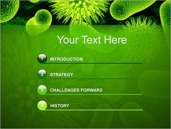 Médicaux Microorganismes Modèles des présentations  PowerPoint - Diapositives 3