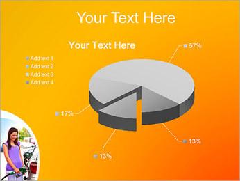 Femme à la station essence Modèles des présentations  PowerPoint - Diapositives 19