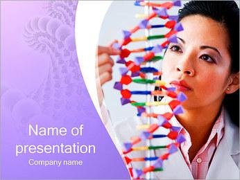 DNK I pattern delle presentazioni del PowerPoint