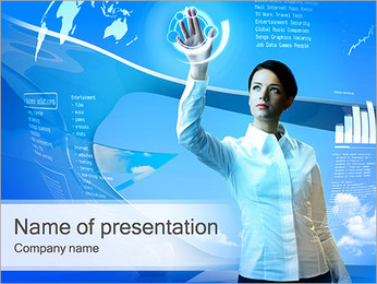 Modern Touch Screen PowerPoint Template