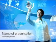 Modern Touch Screen PowerPoint Templates