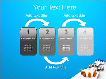 Dos equipos Puzzle Plantillas de Presentaciones PowerPoint - Diapositiva 11