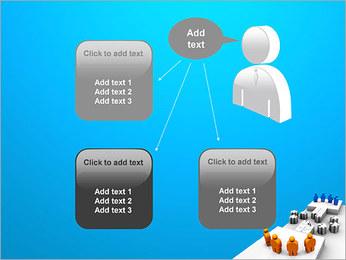 Dos equipos Puzzle Plantillas de Presentaciones PowerPoint - Diapositiva 12