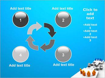 Dos equipos Puzzle Plantillas de Presentaciones PowerPoint - Diapositiva 14