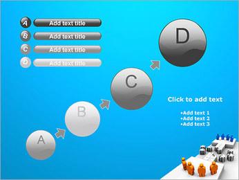 Dos equipos Puzzle Plantillas de Presentaciones PowerPoint - Diapositiva 15