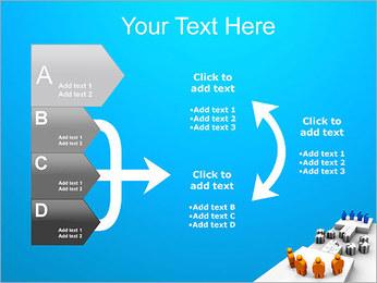 Dos equipos Puzzle Plantillas de Presentaciones PowerPoint - Diapositiva 16