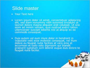 Dos equipos Puzzle Plantillas de Presentaciones PowerPoint - Diapositiva 2