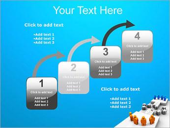 Dos equipos Puzzle Plantillas de Presentaciones PowerPoint - Diapositiva 20