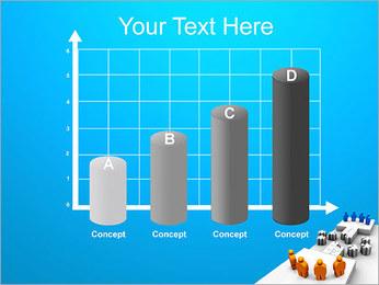 Dos equipos Puzzle Plantillas de Presentaciones PowerPoint - Diapositiva 21