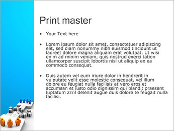 Dos equipos Puzzle Plantillas de Presentaciones PowerPoint - Diapositiva 24