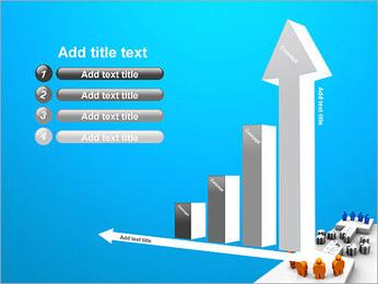 Dos equipos Puzzle Plantillas de Presentaciones PowerPoint - Diapositiva 6
