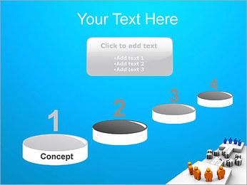 Dos equipos Puzzle Plantillas de Presentaciones PowerPoint - Diapositiva 7