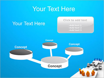 Dos equipos Puzzle Plantillas de Presentaciones PowerPoint - Diapositiva 9