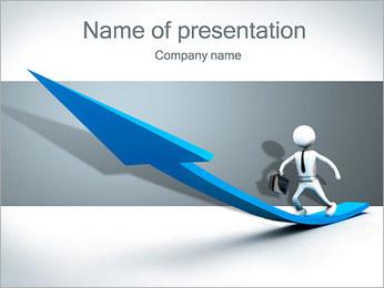 Seta Goes Up Modelos de apresentações PowerPoint