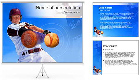 Baseball PowerPoint Template Backgrounds ID 0000002938 – Baseball Powerpoint Template