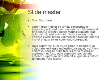 Autumn Leaves PowerPoint Template - Slide 2