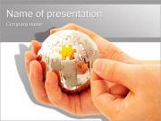 Sphere Puzzle PowerPoint Templates
