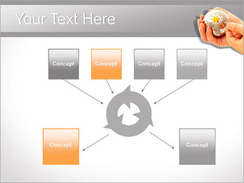 Sphere Puzzle PowerPoint Template - Slide 10