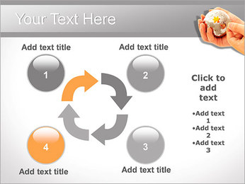 Sphere Puzzle PowerPoint Template - Slide 14