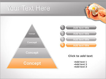 Sphere Puzzle PowerPoint Template - Slide 22