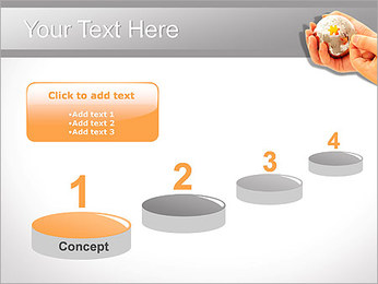 Sphere Puzzle PowerPoint Template - Slide 7