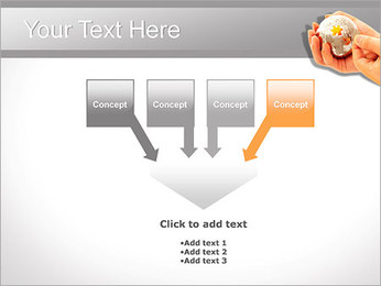 Sphere Puzzle PowerPoint Template - Slide 8