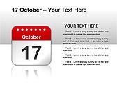 2012 Calendar PPT Diagrams & Charts - Slide 23