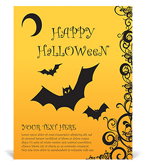 Happy Halloween Poster Template & Design ID 0000002950 ...
