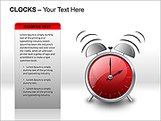 Clocks PPT Diagrams & Charts