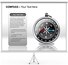 Compass PPT Diagrams & Chart