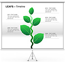 Leafs PPT Diagrams & Chart