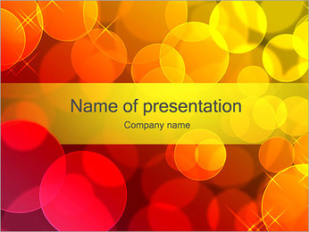 Colorful Abstraction PowerPoint Template