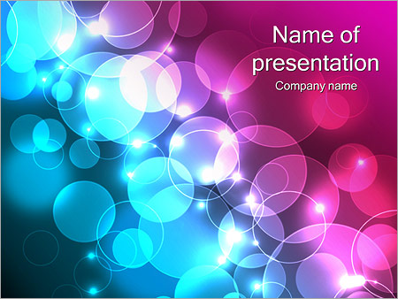 Colorful Drops Powerpoint Template Backgrounds Google Slides Id