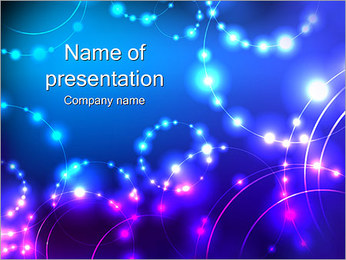 Constellation of Stars PowerPoint Template