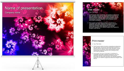 Fleur Meadow Modèles des présentations  PowerPoint