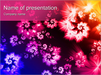 Flower Meadow PowerPoint presentationsmallar