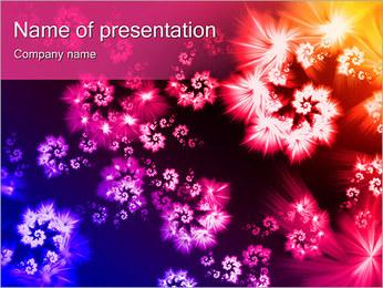 Fleur Meadow Modèles des présentations  PowerPoint - Diapositives 1