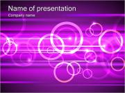 Lilac Abstraction PowerPoint Templates