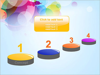 Abstraction Canvas PowerPoint Template - Slide 7